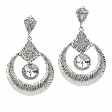 Boanza Ethnic Style Crystal Drop Earrings