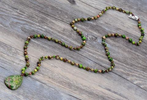 Sema Stone Beads Necklace