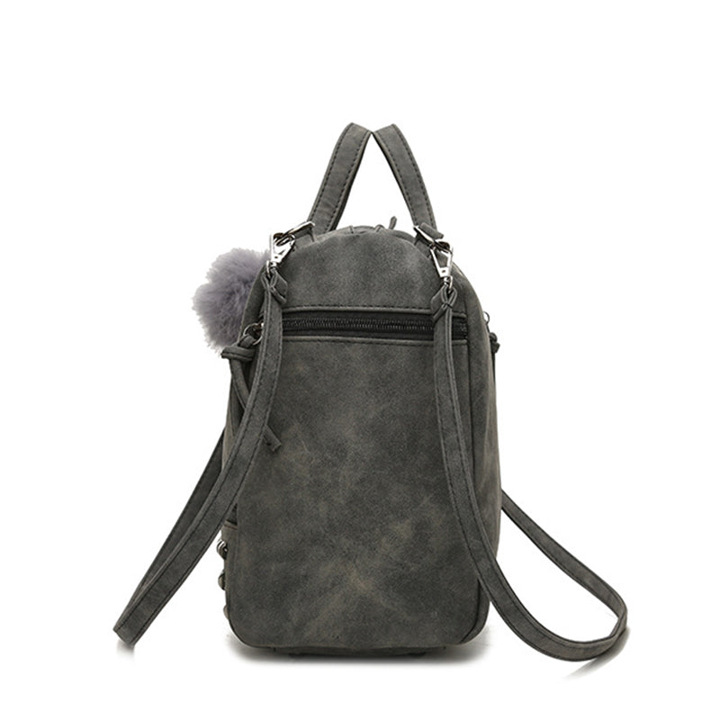 Anivalda Leather Large Capacity Messenger Handbag