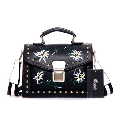 Liloo Small Flowers Crossbody Handbag
