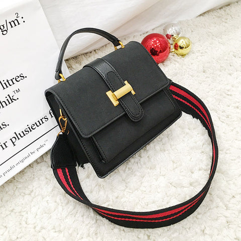 Inde Vintage Pu Leather Crossbody Handbag