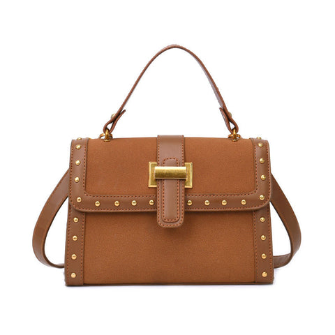 Image of Pricille PU Leather Crossbody Handbag