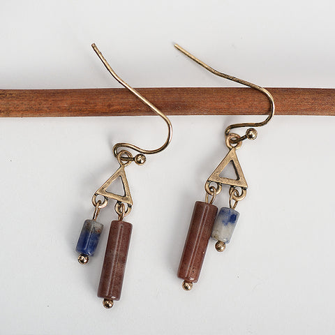 Deepali Vintage Delicate Stone Drop Earrings