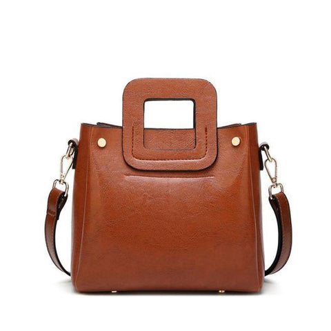 Image of Avni August  Small Vintage Leather Handbag