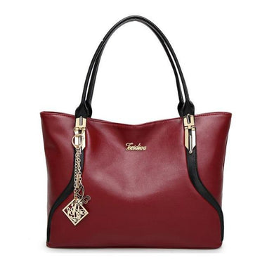 Renee High-Quality PU Leather Large Handbag