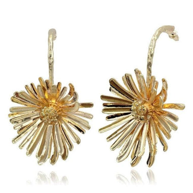 Hinza Chrysanthemum Statement Stud Earrings