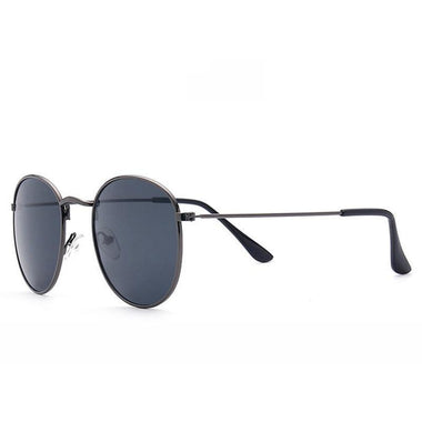 Jione Color Film Metal Frame Sunglasses