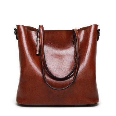 Aahina Vintage Oil Wax Leather Handbag