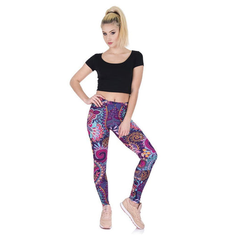 Image of Liliana Colour Tribe Leggings