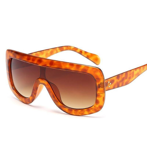 Image of Don't Switch On Me Square Oversized Sunglasses