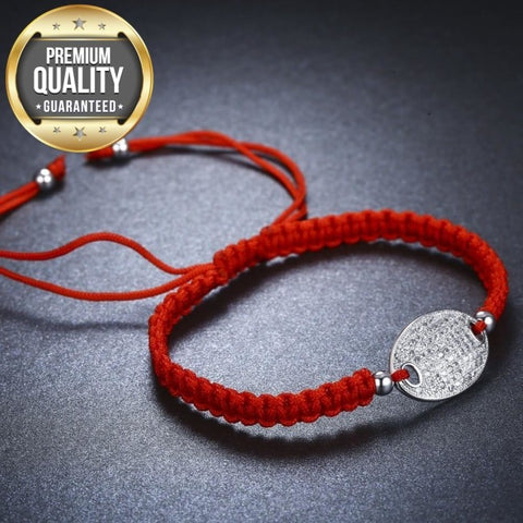 Silvera Red Rope Chain Bracelet