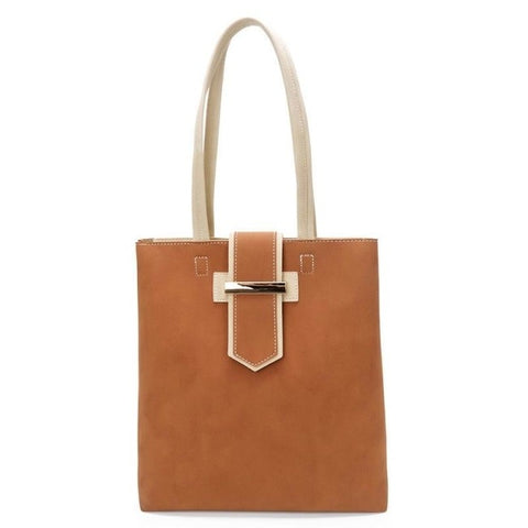 Image of Maitee Patchwork Casual Tote Handbag