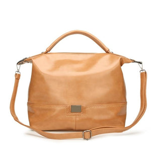 Balduína PU LeatherTop-Handle Handbag