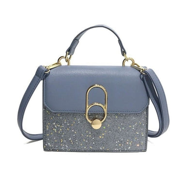 Soeli Sequined Hot Shoulder Messenger Handbag