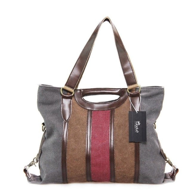 Brasha High Quality Canvas Handbag