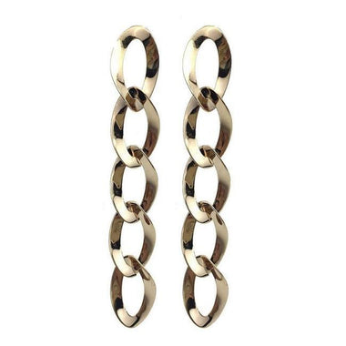 Aimir  Metal Maxi Charm Earrings
