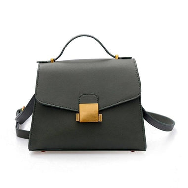 Yvonnette Vintage PU Leather Handbag