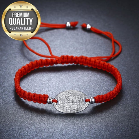 Image of Silvera Red Rope Chain Bracelet