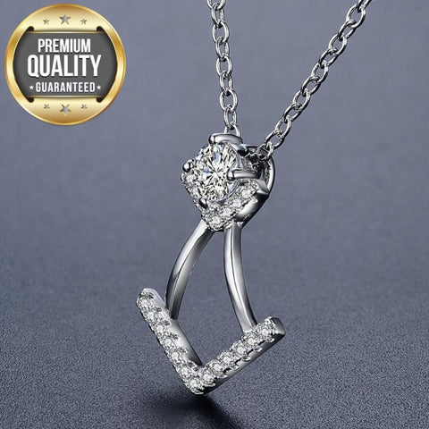 Jinkie Clear AAA Zircon Necklace