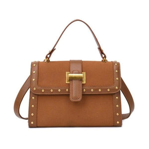 Pricille PU Leather Crossbody Handbag