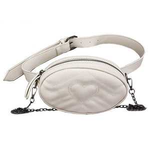 Lidvine Circular Wide Strap Adjustable Waist Handbag