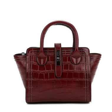 Nolene PU Leather Shoulder Handbag