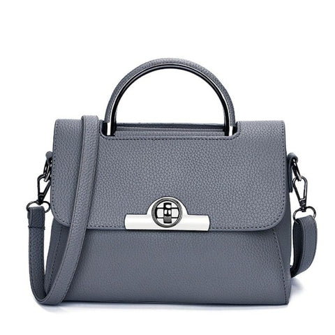 Image of Arlete Small Lock Handbag