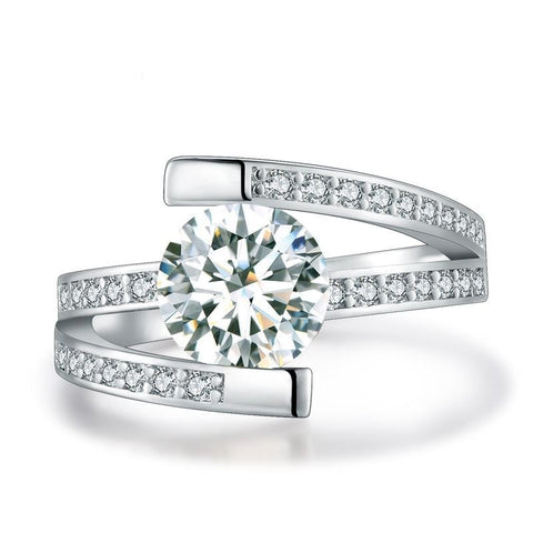 Image of Elloise White Gold Engagement Ring