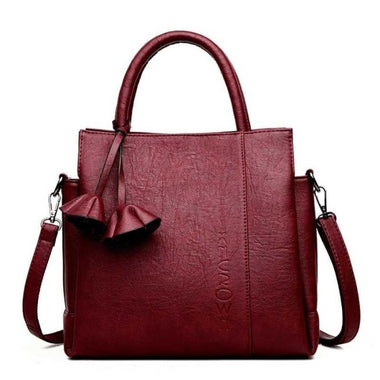 Wiame Pu Leather Large Capacity Handbag