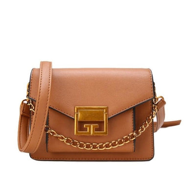 Jacinte Candy Color Flap Lock Handbag