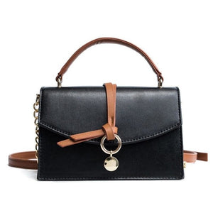 Valere Leather Chains Small Crossbody Handbag