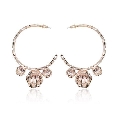 Anaya Alloy Statement Stud Earrings