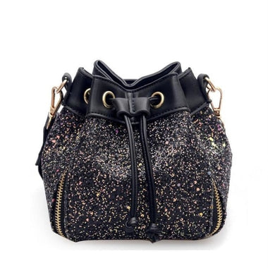 Inesse Sequins Bucket Shoulder Handbag
