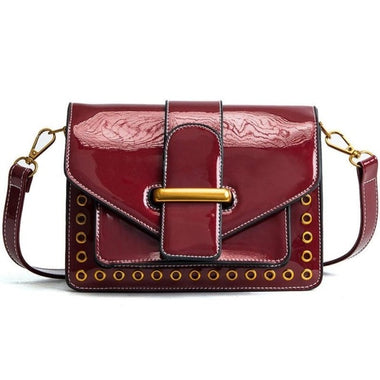 Laurinne Leather Vintage Small Crossbody Handbag