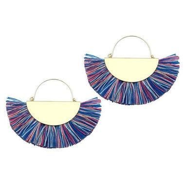 Tabi Bohemian Tassel Earrings