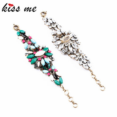 New Styles 2016 Fashion Jewelry  Elegant Resin Plant Charming Bracelet Christmas Gifts