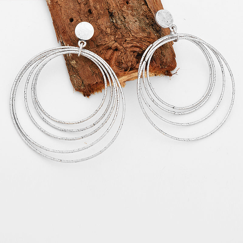 Yaretzi Bohemian Big Drop Earrings