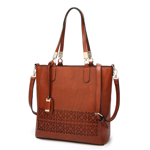 Image of Corinne High-Quality Vintage Shoulder Handbag