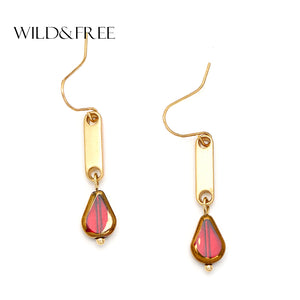 Helan Geometric Shape Dangle Earrings