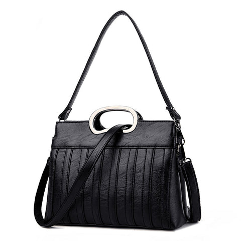 Romie Large Capacity Shell Handbag