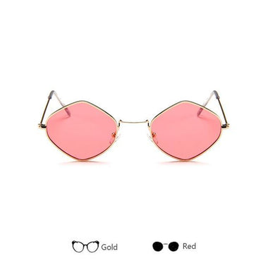 Feel Me Trendy Small Square Sunglasses
