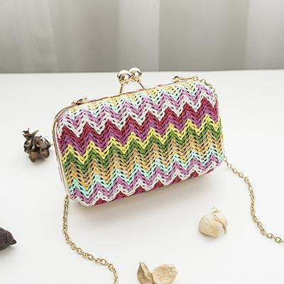 Aida Multicolor Small Clutch