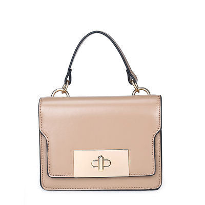 Image of Germanie PU Leather Small Flap Handbag