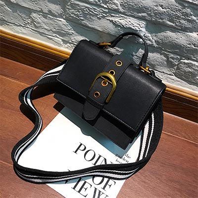 Jacquemine Flap Belt Main Vintage Bag