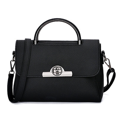 Image of Lilline Small Lock Crossbody Handbag