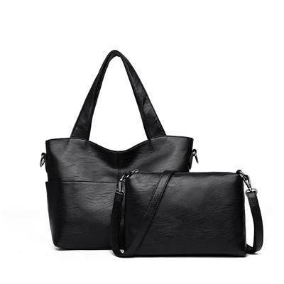 Image of Maguie 2Pcs/Set Leather Handbag