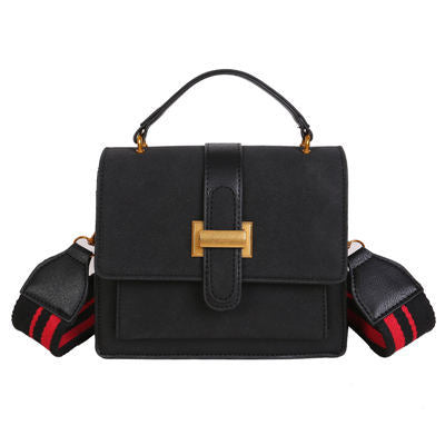 Image of Inde Vintage Pu Leather Crossbody Handbag