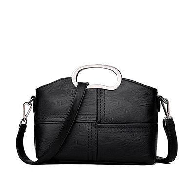 Zoelie PU Leather Messenger Handbag