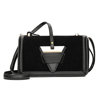 Gaiane PU Leather Shoulder Handbag