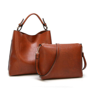 Aaryana Amia PU Leather Bucket Style Handbag